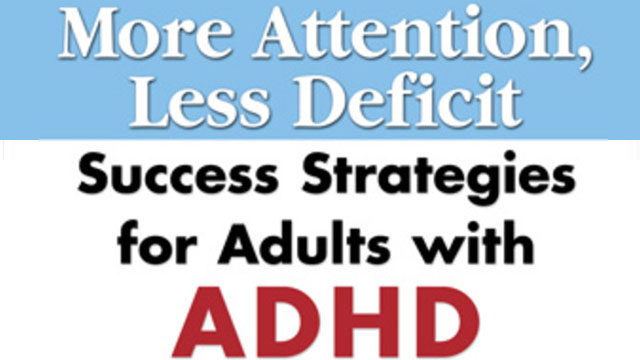 attention deficit hypertension disorder dont get Did you know that experts recommend behavior intervention as the first and best treatment attention-deficit / hyperactivity disorder that don't work or.
