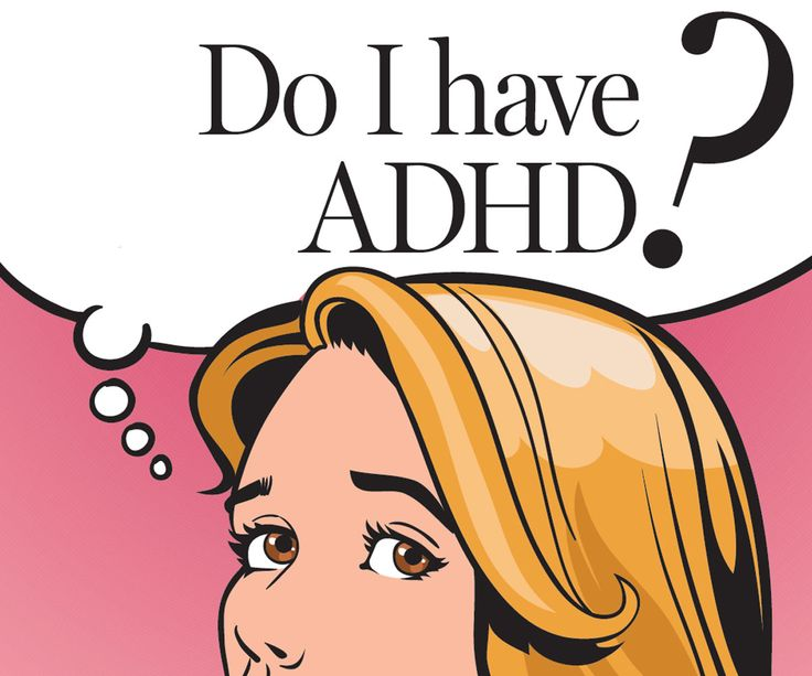 Testing for adult adhd