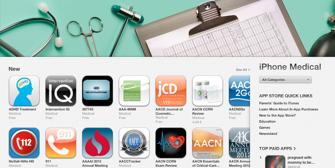 ADHD Treatment, App, iPhone, App Store